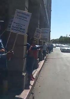 46 días de lucha, demandando cumplimiento de contrato colectivo. SUTSMH en pie de lucha en favor de sus trabajadores